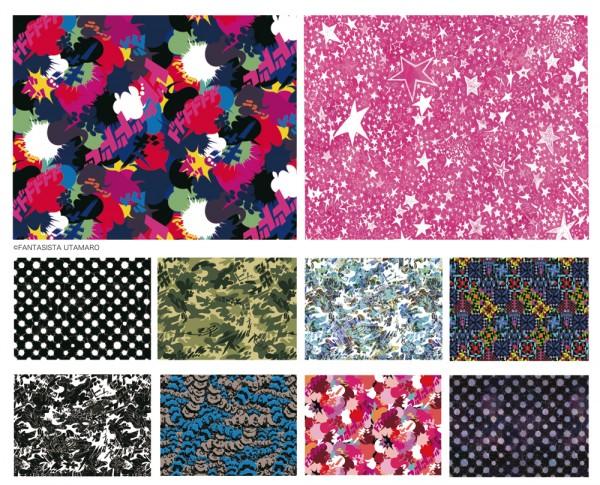 Japan Creators textile Fantasista Utamaro