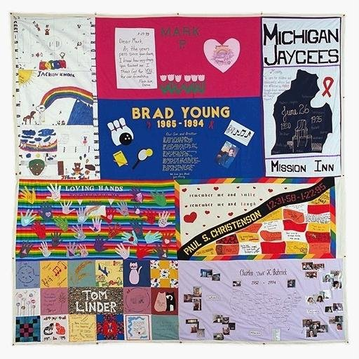 AIDS_quilt_with_Michigan_Jaycees_panel