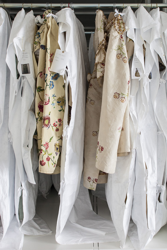 Storage in The Clothworkers' Centre for Textile and Fashion Study and Conservation © Victoria and Albert Museum