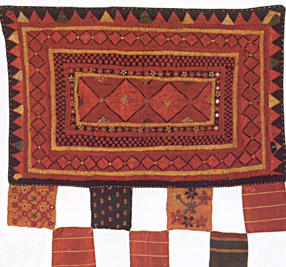 Embroidered_hanging,_Kutch_(western_India