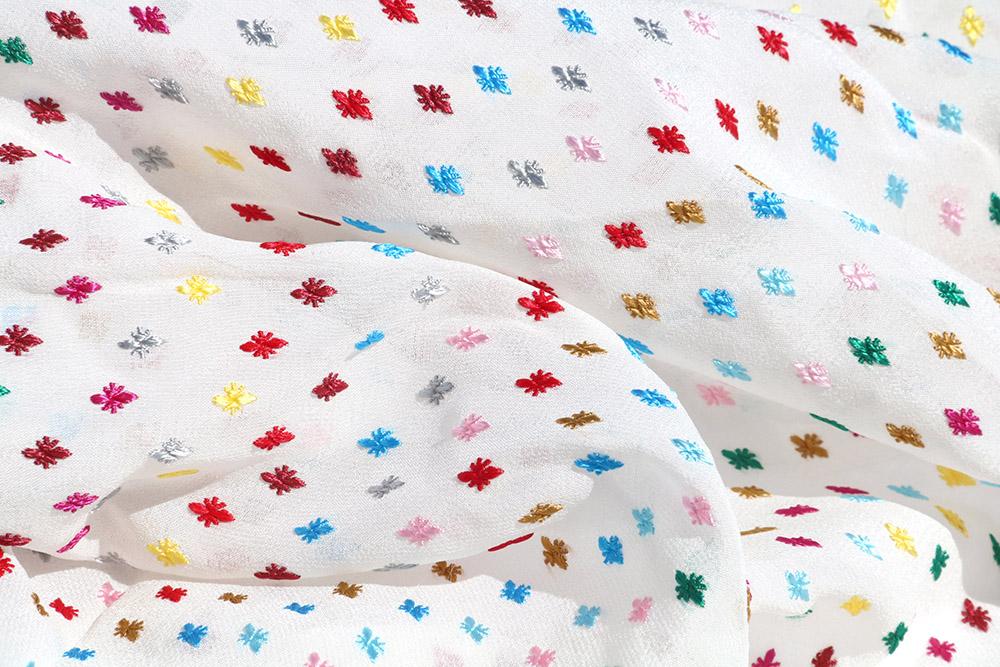 Tissu Broché multico PRADA