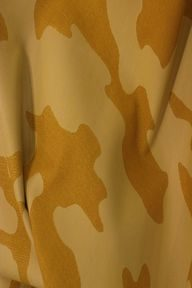 Laser-engraved camouflage print on lamb leather from Lider Deri