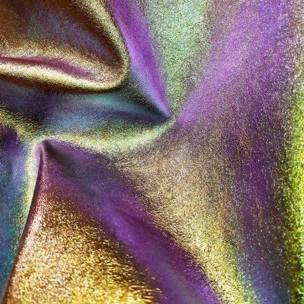 finition pigmentée, cuir, changeant