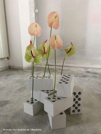 art, installation, flowers, studio lilo