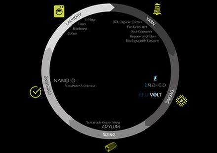 Blu Volt Graph - Kassim Denim