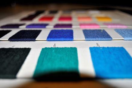 fibres for a denim design